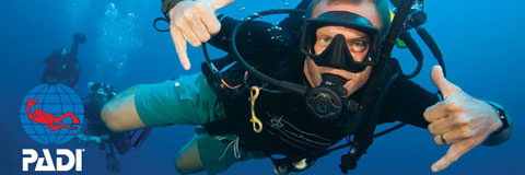 Colona Divers PADI diving courses for all levels