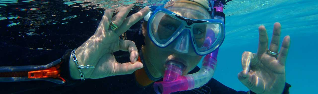 Colona Divers snorkelling